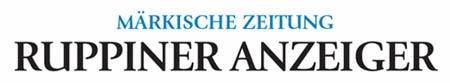 """Der Ruppiner Anzeiger berichtete über Warenthin und das Gasthaus """"Am Rheinsberger See""""."""